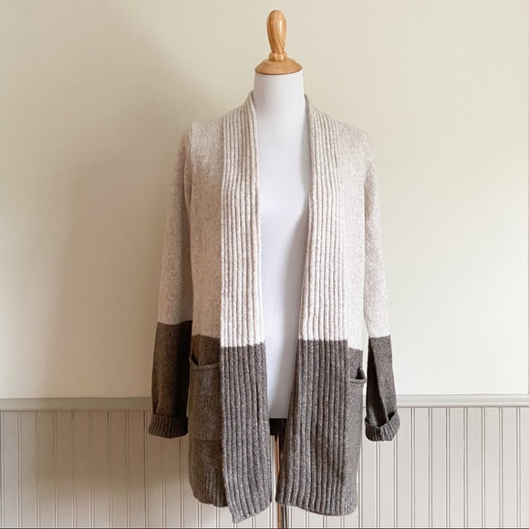 Sonoma The Supersoft Sweater Colorblock Cardigan